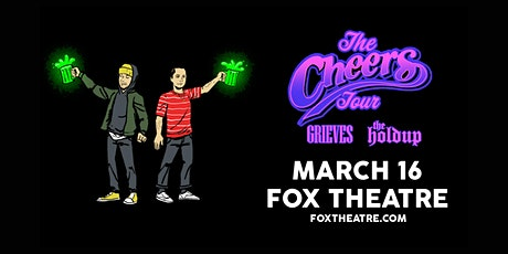 THE CHEERS TOUR: GRIEVES + THE HOLDUP with P.MO, VOZ 11, KRUZA KID