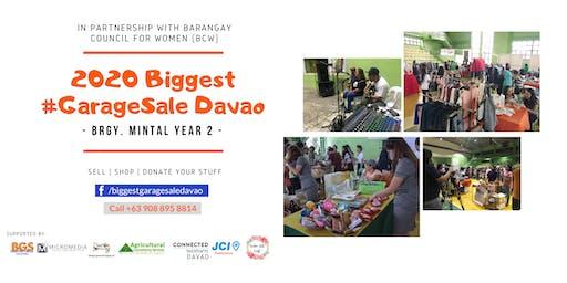 2020 Biggest #GarageSale Davao - Mintal Year 2