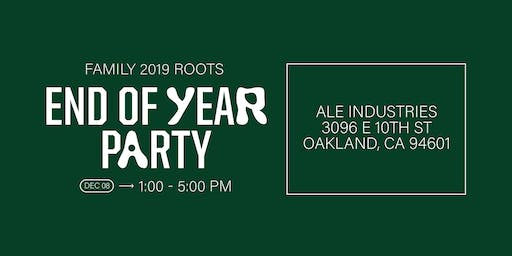 Oakland Roots End of Year Party