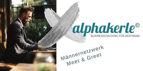 alphakerle Meet & Greet - Männernetzwerk Tickets