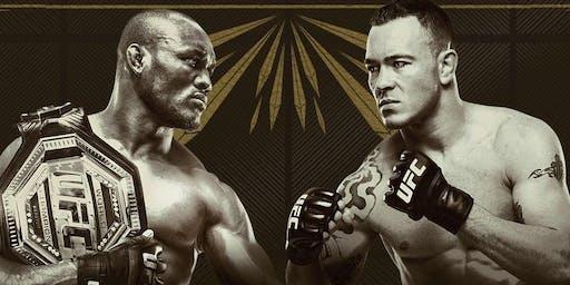 UFC 245 Usman vs. Covington at Satellite Tavern