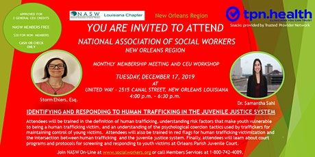 NATIONAL ASSOCIATION OF SOCIAL WORKERS- NEW ORLEANS REGION tickets