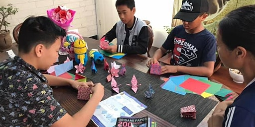 Traditional Origami Workshop for Kids - School Holiday