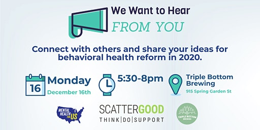 Unite for Mental Health Happy Hour