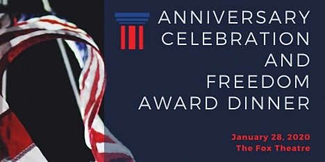 Anniversary Celebration and Freedom Award Dinner