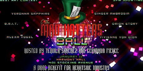 The Mad Hatters Ball:  A Hat Party and Drag Benefit for Heartside Ministry tickets