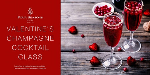 Valentine's Champagne Cocktail Class