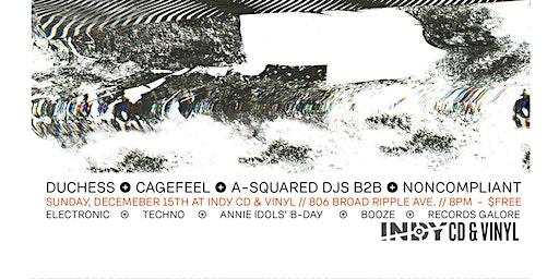 Free Ur Mind * Experimental DJ Night at Indy CD & Vinyl