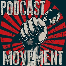Podcast Movement Workshops logo