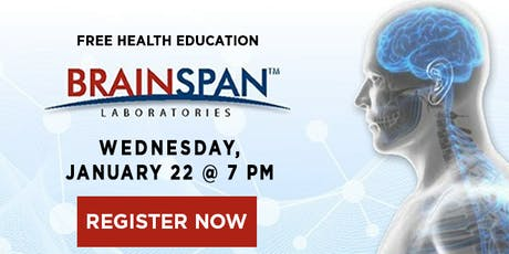 Brainspan:  How Do I Measure Brain Health and Function? tickets