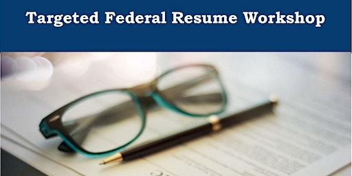 Targeted Federal Resume Workshop