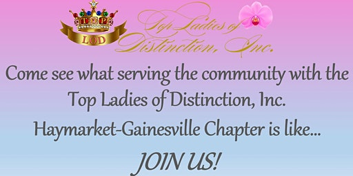 """TLOD Haymarket-Gainesville Chapter - """"New Year, New Opportunity to Serve Your Community"""""""