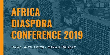 AFRICA DIASPORA CONFERENCE 2019 tickets
