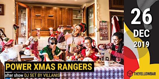Power Xmas Rangers - The Yellow Bar