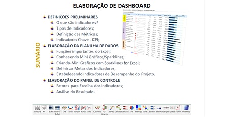 Workshop Elaboração de Dashboard (8 horas) ingressos