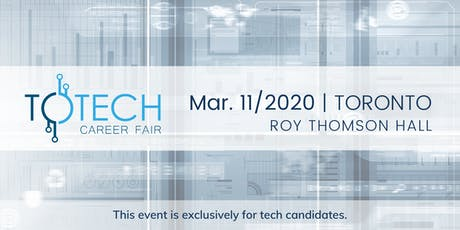 TOTech Career Fair tickets