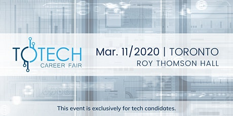 TOTech Career Fair - Spring 2020 tickets