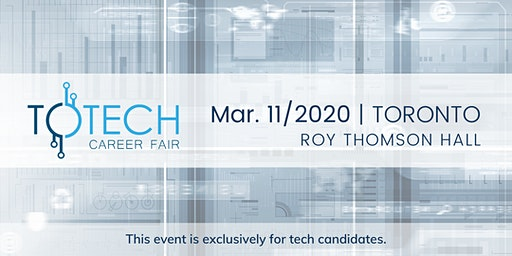 TOTech Career Fair - Spring 2020