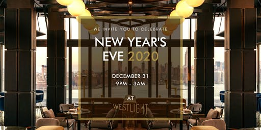 New Year's Eve at Westlight 2020