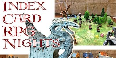 Index Card RPG Nights - February 2020