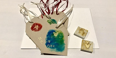 Printmaking – Hand Stamped Gift Tags tickets