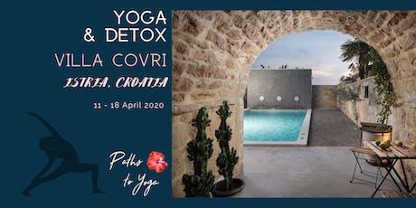 Yoga & Detox in Istria, Croatia biglietti