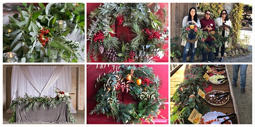 Make a Wreath, Garland, or Swag Workshop