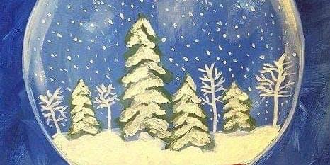 Snow Globe Paintings!