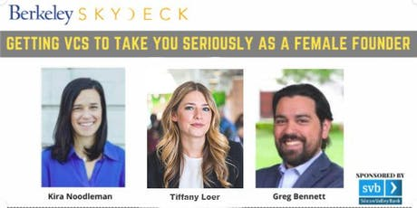 Getting VCs to Take You Seriously as a Female Founder tickets