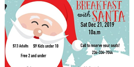Kids Breakfast with Santa tickets