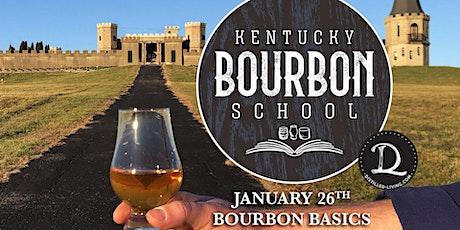 Bourbon Basics • JANUARY 8 • KY Bourbon School @ The Kentucky Castle tickets