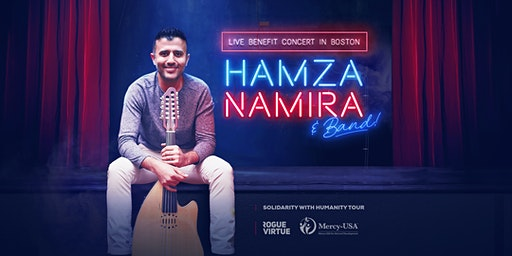 Hamza Namira and Band |  Live Benefit Concert in Boston!
