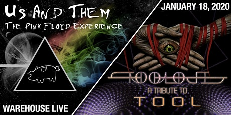 US AND THEM - THE PINK FLOYD EXPERIENCE / TOOLOJI - A TRIBUTE TO TOOL tickets