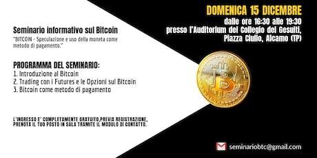 Seminario Bitcoin Alcamo biglietti
