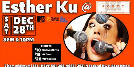 MRBC Comedy Night: Esther Ku from MTV and NBC! tickets