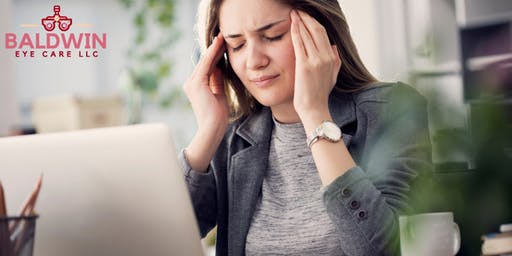 Headaches,neck pain, eye strain or dry eyes? FREE SCREENING!