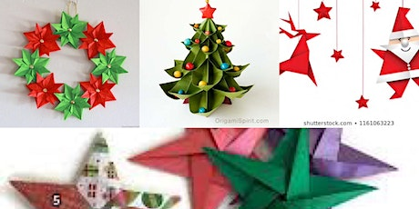 Christmas Origami tickets