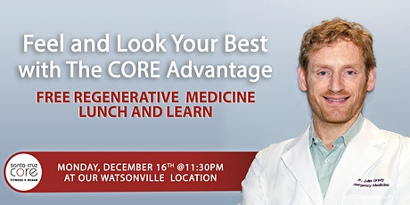 FREE Lunch and Learn Prolotherapy Seminar tickets