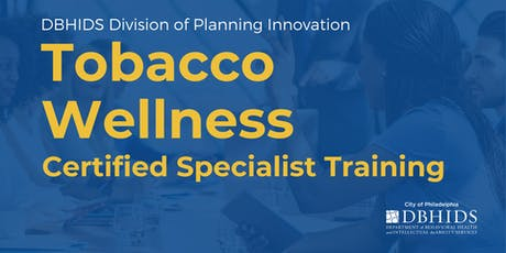 Tobacco Wellness: Certified Specialist Training tickets