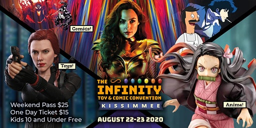 The Infinity Toy and Comic Convention 2020