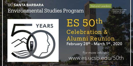 Environmental Studies Program 50th Anniversary Celebration & Alumni Reunion tickets