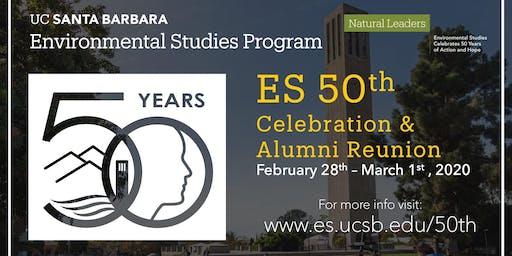 Environmental Studies Program 50th Anniversary Celebration & Alumni Reunion