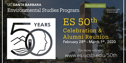 Environmental Studies Program 50th Anniversary Celebration & Alumni Reunion