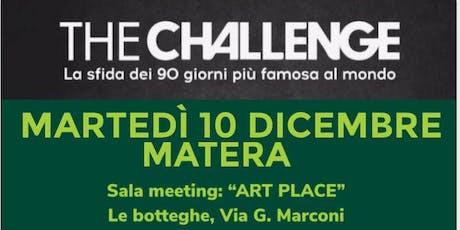 The Challenge Matera biglietti