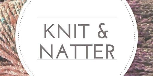 Knit, Crochet & Natter - FREE WORKSHOP