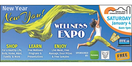 New Year, New You! Wellness Expo 2020 tickets
