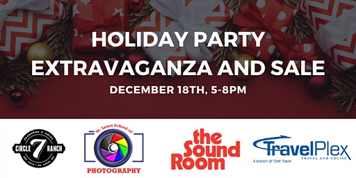 Holiday Party Extravaganza and Sale!