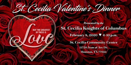 2020 St Cecilia KoC Valentine Dinner tickets