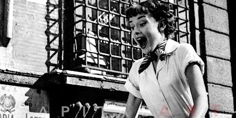 35mm Screening of Audrey Hepburn in ROMAN HOLIDAY tickets