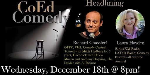 Free Comedy in San Diego 12/18!